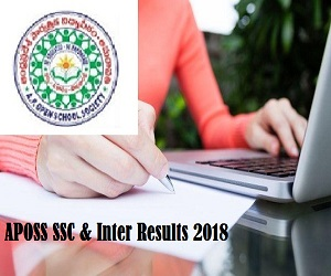 APOSS SSC & Inter Results 2018 Released - Vidyavision