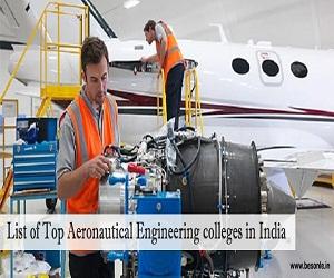 Aerospace Engineering Colleges >> Top Aeronautical Engineering Colleges In India 2018